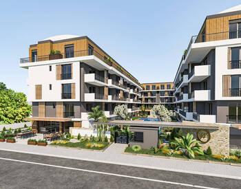 Luxus-immobilien In Antalya Konyaalti Mit Einem Schwimmbad