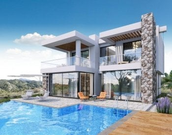 Seafront Villas with Private Pools in Kyrenia North Cyprus