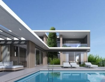 Impressive Villas with Modern Architecture in Incek, Ankara