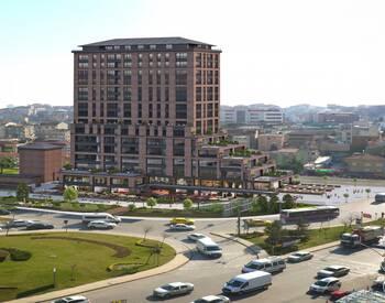 Офисы и Магазины в Удачном Месте Стамбула в Аташехире