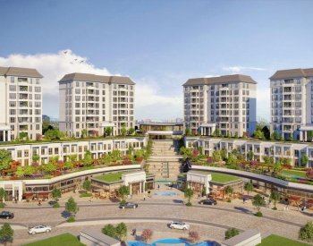 Brand New Flats in a Luxurious Complex in Basaksehir