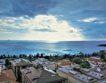 Apartments with Magnificent Sea View on Bagdat Street in Kadikoy