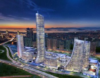 Properties in a Complex Close to the Highways in Istanbul