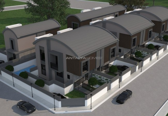Luxurious Villas for Sale with Contemporary Architecture in Antalya