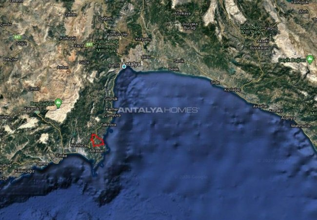 Land for Sale Close to Olympos Ancient City in Antalya