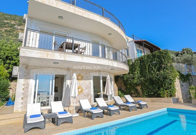 Furnished Real Estate with Breathtaking Views of Kalkan Bay