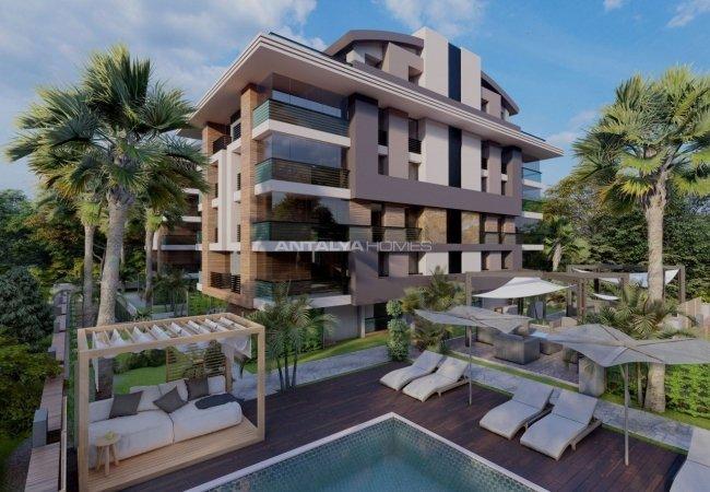Well-equipped Real Estate Close to Sarısu Beach in Antalya Konyaaltı