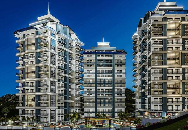 Real Estate with Fantastic Features in Mahmutlar Alanya
