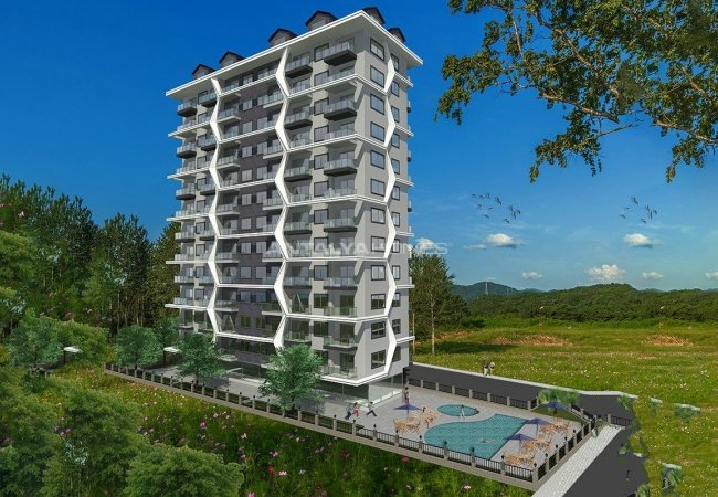 Centrally Located Alanya Apartments 350 Mt to the Beach