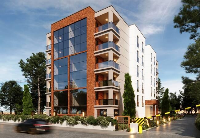 Nature View Bursa Apartments in a Boutique Complex