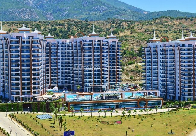 Ultra-luxury Apartments with Hotel Concept in Alanya