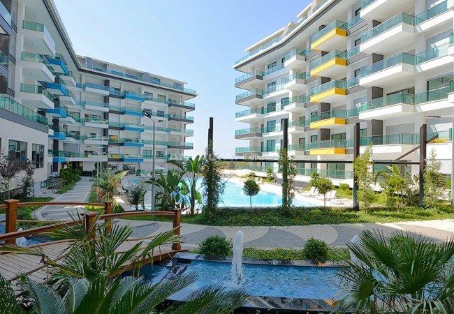 Sea View Apartments with Private Beach in Kargıcak