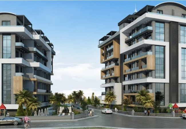 Modernly Designed Real Estate Surrounded by Nature in Alanya