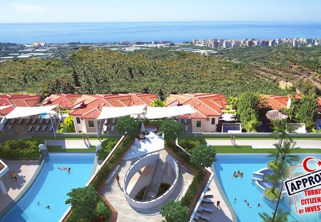Unique Flats with Panoramic Sea View in Alanya Kargicak