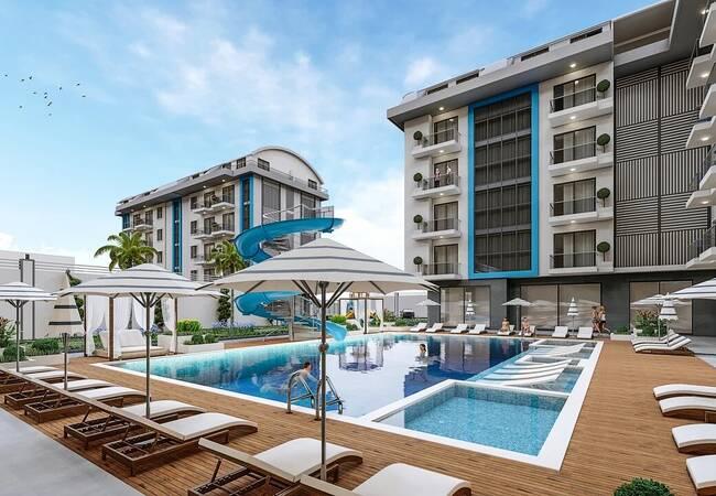 Luxury Flats for Sale in a Prestigious Complex in Alanya Oba