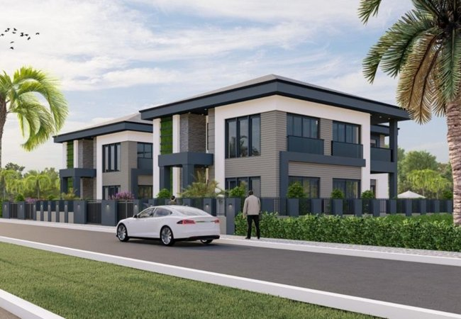 Smart Villas with 350 M² Private Garden in Antalya Döşemealtı