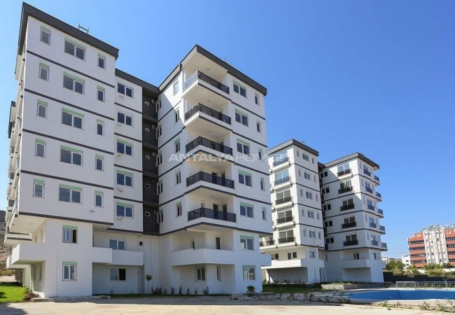 Three Faced Flats with Modern Design in Antalya Kepez