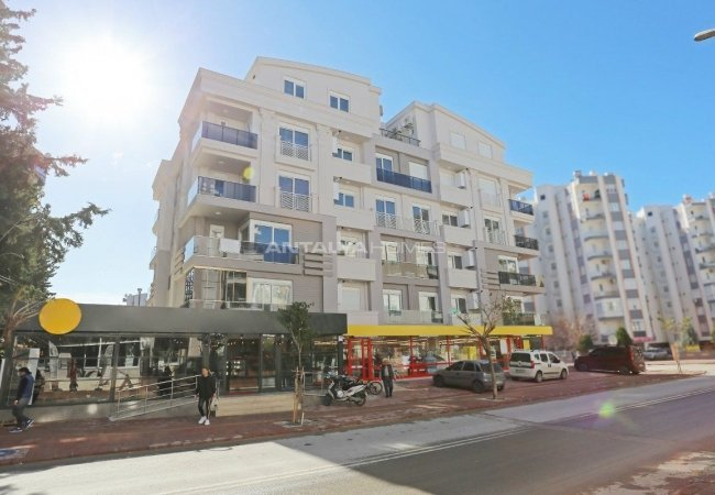 Brand New Spacious Flat for Sale in Hurma Neighborhood Konyaaltı