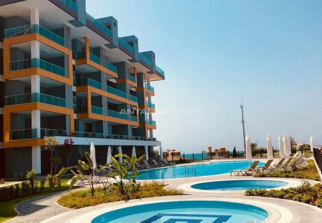 Apartments with Stunning Sea View in Kestel Alanya