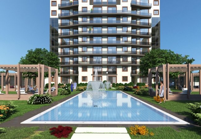 Apartments in Turkey Istanbul with Investment Opportunity