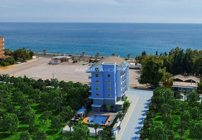 Investment Apartments 100 Mt to the Sea in Kargicak Alanya
