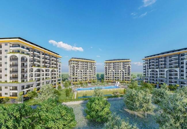 5-stars Hotel Concept Apartments in Alanya Avsallar