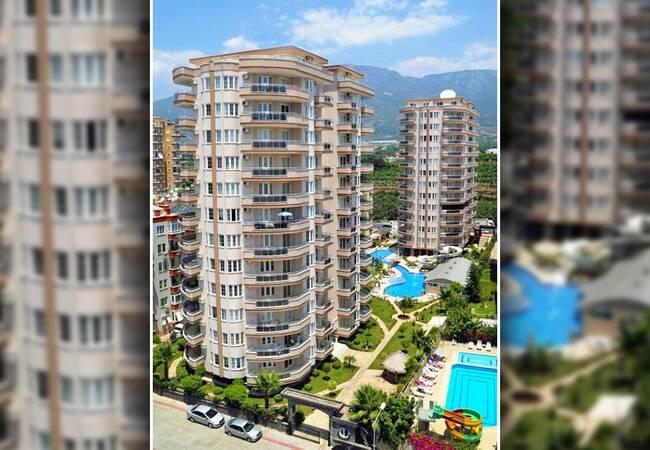 Alanya Apartments with Glorious Sea View in Mahmutlar