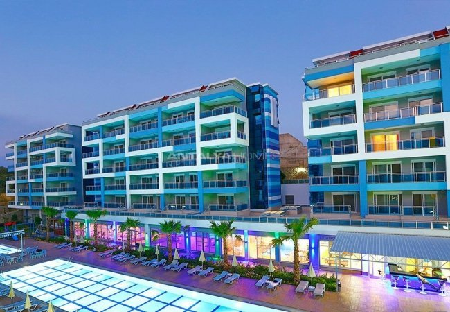 High-quality Apartments Close to the Beach in Kestel Alanya