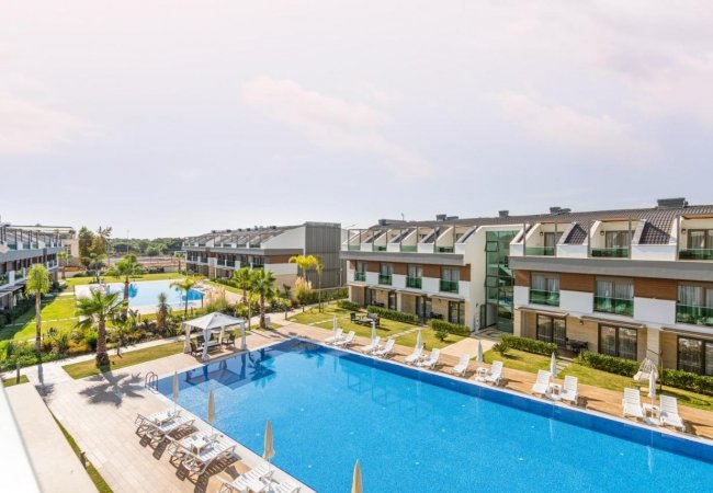 Deluxe Apartments Near Airport in Antalya for Investment