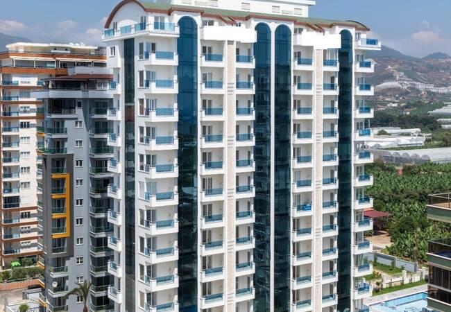 Modern Apartments 400 Mt to the Sea in Alanya Mahmutlar