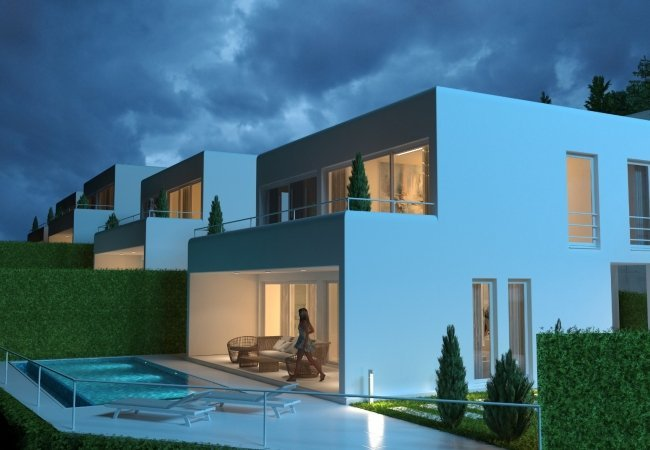 Sea and Nature View Independent Villas in Alanya Tepe
