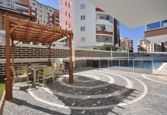 New-built Apartments 700 Mt to the Beach in Alanya