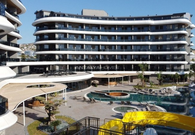 Luxurious Apartments with Sea View in Kargicak Alanya