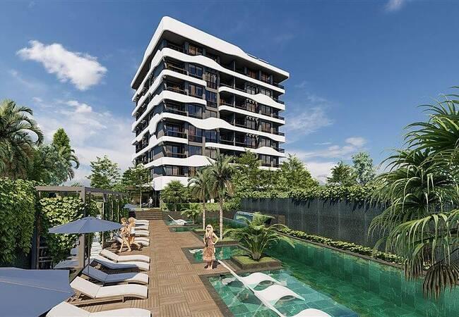 Modern Real Estate Close to All Amenities in Avsallar Alanya