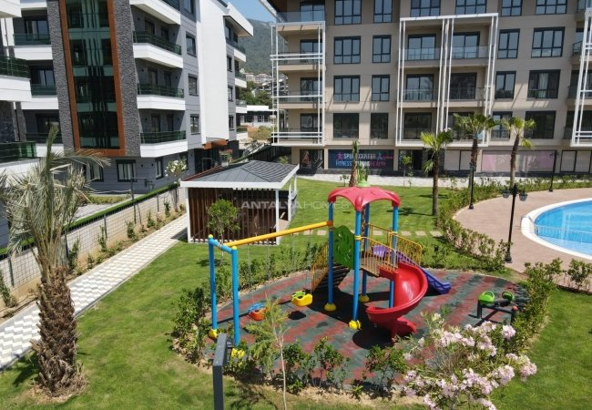 New Properties in Complex with Fitness and Sauna in Alanya