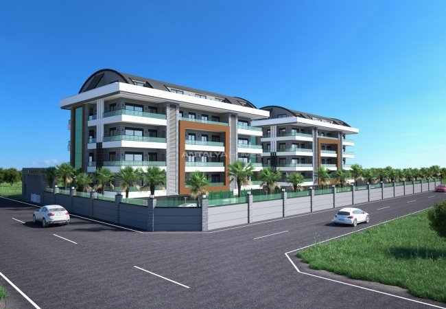 Luxury Real Estate Suitable for Investment in Alanya Turkey
