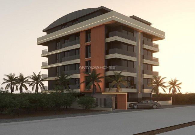 New Antalya Apartments Close to Amenities in Konyaaltı