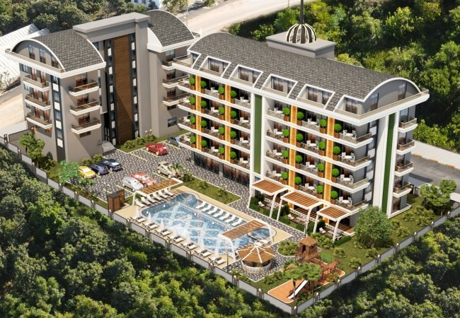 Elegantly Designed Apartments Close to All Amenities in Oba