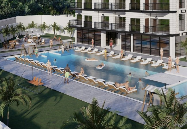 Luxury Apartments 1 Km From the Beach in Avsallar