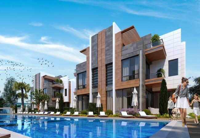 Capacious Villas in a Peaceful Area in Antalya Konyaaltı