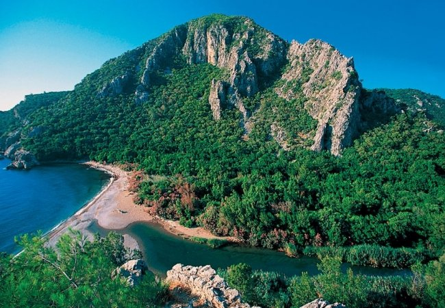 Investment Land Suitable for Villa Construction in Olympos