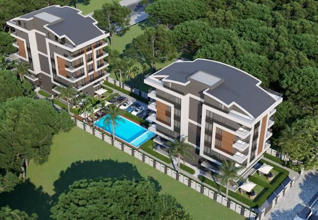 Antalya Apartments in the Investment Region of Konyaaltı