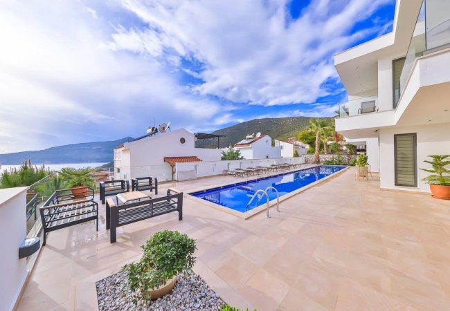 Luxury Villa for Sale in Kalkan Suited for Extended Families