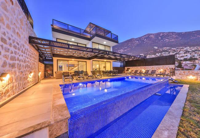 Spacious Contemporary Villa with Garden in Kalkan