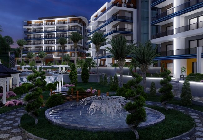 Full Activity Apartments with Swimming Pool in Kargicak