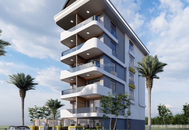 Centrally Located Alanya Apartments with Contemporary Design