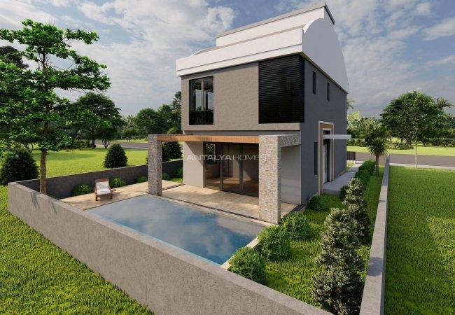 Duplex Detached Villa Suited for Private Life in Döşemealtı