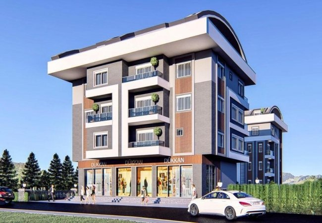 Well-located Investment Apartments for Sale in Alanya