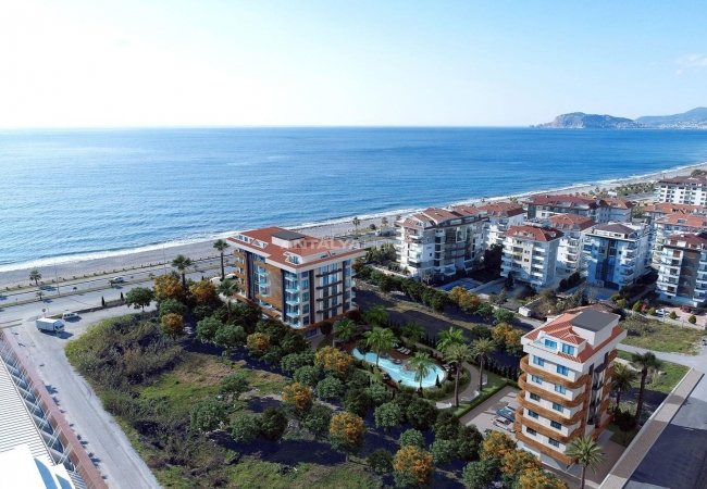 Modernly Designed Luxury Flats in Alanya Kestel with Pools