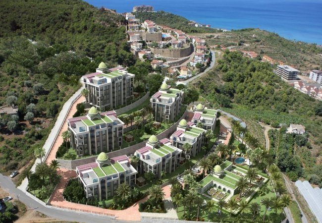 New Apartments in Alanya Kargıcak Close to the Airport